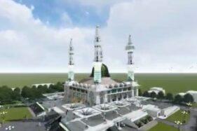 Bagaimana Progres Masjid Agung Karanganyar? Bupati Bilang On The Track