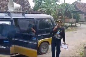 Capture video viral Kades Kebonagung salah sebut corona jadi veronica. (Twitter)