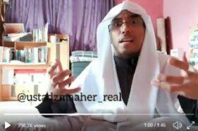 Maheer Thuwailibi memprotes keras netizen soal pernyataan virus corona. (Istimewa/Twitter)