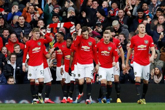 Manchester United. (Reuters/Phil Noble)