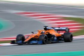 Pembalap McLaren, Carlos Sainz Jr. (Reuters/Albert Gea)