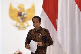 Sindir Menteri Lagi, Jokowi Sebut WFH seperti Cuti