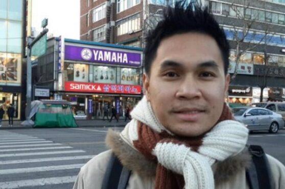 komentator sepak bola Rama Sugianto yang diduga melecehkan wanita