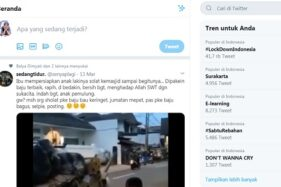 Tagar #Solo atau #Surakarta menjadi trending topic Twitter, Sabtu (14/3/2020), terkait Solo KLB corona. (Twitter)
