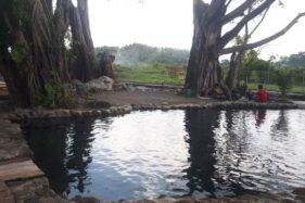 Salah satu wisata air di Klaten. (Solopos/Ponco Suseno)