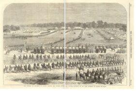 Gambaran pertemuan orang Inggris dengan pribumi Punjab di India. (Wikipedia.org)