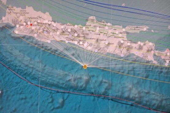 Ilustrasi peta Jawa (Istimewa/BMKG)