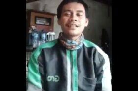 Driver ojol GInanjar (Twitter/@mangkhuthinks).