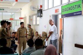Ganjar Pranowo & Taj Yasin Jalani Tes Covid-19 di Semarang