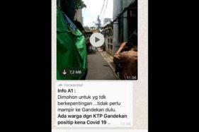 Video Penjemputan ODP Corona Sebut Nama Gandekan Beredar Di Solo, Ternyata..