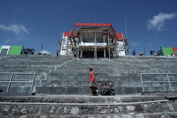 Pembangunan Stadion Kebo Giro Boyolali Mandek, Karena Corona?