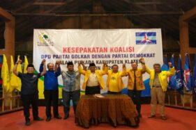 Partai Golkar Beberkan Alasan Batalkan Koalisi dengan PDIP di Pilkada Klaten