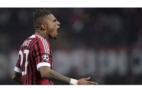 Kevin Prince Boateng. (Reuters)