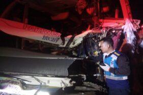 Kecelakaan Bus Maut SMK Muhammadiyah 1 Gondangrejo 2 Korban Meninggal Terjepit