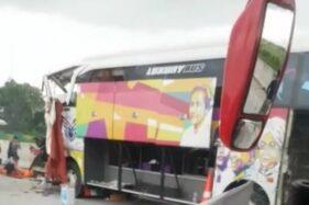 Pelajar SMK Karanganyar Korban Kecelakaan Ngeri Teringat Kondisi Di Bus Saat Kejadian