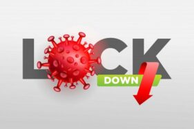 Ilustrasi Lockdown. (Freepik)