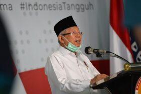 Pengunggah Kolase Ma'ruf Amin-Kakek Sugiono Ketua MUI di Tanjungbalai, Begini Tanggapan Istana Wapres