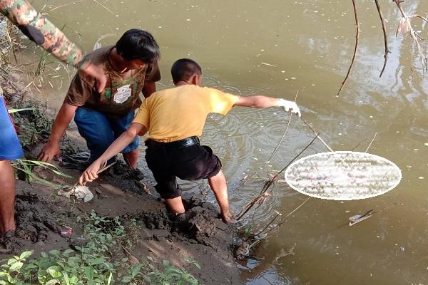 Dikira Boneka, Mayat Bayi Perempuan Ditemukan Mengapung di Kali Dengkeng Klaten