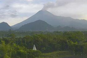 Gunung Merapi Kembali Erupsi, Ketinggian Kolom 6.000 Meter