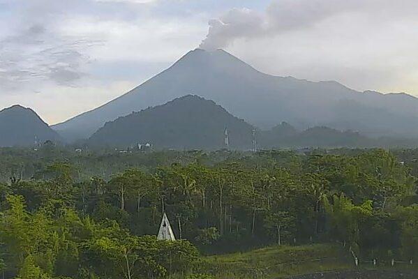 Gunung Merapi (Twitter @Kominfodiy)
