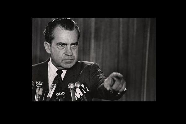 Richard Nixon. (Reuters)