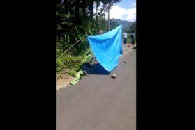 Perempuan Pingsan di Jalan Wonogiri Dikira Terinfeksi Corona, Warga Tak Berani Menolong