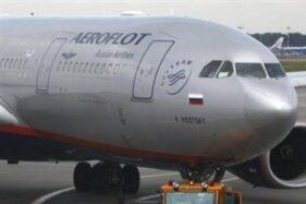 Pesawat milik Aeroflot, Rusia. (Reuters)