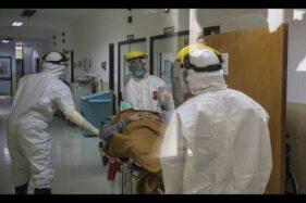 Ilustrasi penanganan pasien virus corona. (Istimewa)