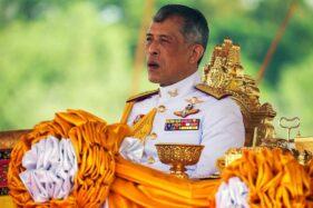 Raja Thailnd, Maharaja Vajiralongkorn, yang mengisolasi diri di Jerman demi menghindari virus corona. (Reuters)