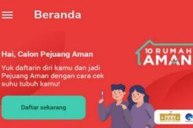 Aplikasi 10 Rumah Aman bikinan Kominfo. (Istimewa)