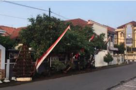 Kondisi Jalanan di Kompleks Sekolah Solo Sabtu Pagi Lenggang, Dampak Corona?
