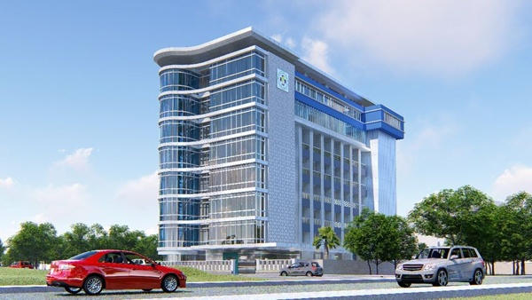 Ilustrasi Tower RS Triharsi Solo (Facebook RS Triharsi Surakarta)