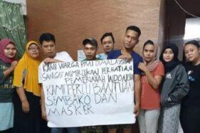 Keluhan TKI di tengah lockdown Malaysia. (Istimewa)