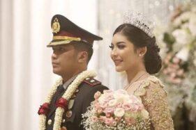 Kompol Fahrul dan istrinya Selebgram Rica Andriani. (Istimewa/Instagram)