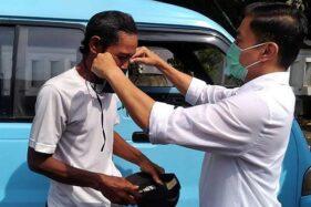 Wali Kota Salatiga Tangani Langsung Warga Membandel Tanpa Masker di Jalanan