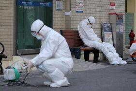 Petugas medis di Korea Selatan. (Reuters)