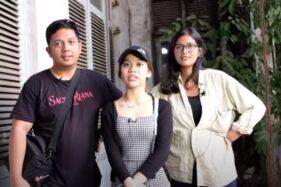 Di Balkon Gedung Bekas Kantor Semarang, Billy Christian dkk. Merinding...