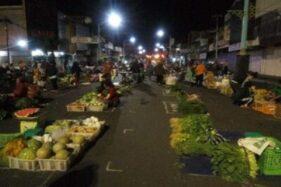 Pembatasan Jarak Pasar Pagi Salatiga Jadi Contoh Demak