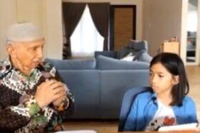 Vlog Amien Rais bersama cucunya. (Istimewa/Instagram)