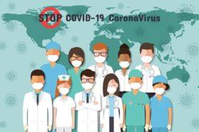 Ilustrasi Covid-19 atau virus corona (Freepik)