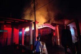 Diduga Korsleting, Rumah Penyimpanan Alat Musik di Gajahan Terbakar
