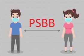 Ilustrasi pembatasan sosial atau pembatasan fisik. (Freepik)