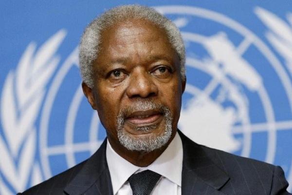Kofi Annan. (Reuters)