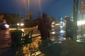 Drainase Tak Optimal, Jl. Solo-Jogja di Klaten Sering Terendam Banjir
