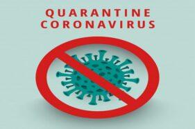 Ilustrasi stop persebaran virus corona. (Freepik)