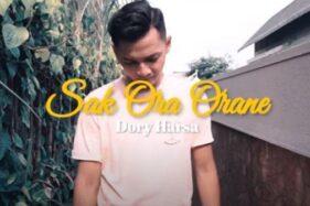 Lirik Lagu Sak Ora Orane - Dory Harsa