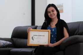 Elizabeth Sudira Raih Kartini Award 2020 The Sunan Hotel Solo