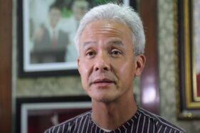 Gubernur Jawa Tengah Ganjar Pranowo. (Istimewa)