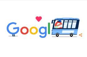 Google Doodle: Giliran Pekerja Transportasi Disanjung Google