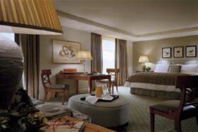 Ilustrasi hotel bisnis. (Reuters)